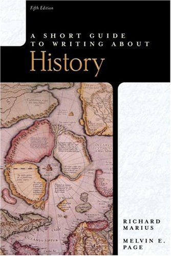 A Short Guide to Writing about History: Marius, Richard
