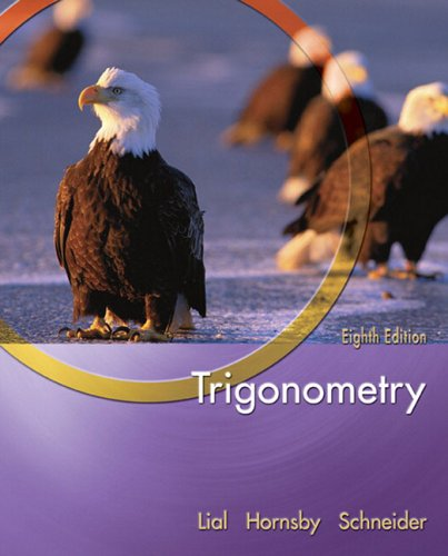 9780321227362: Trigonometry (Lial/Hornsby/Schneider Series)