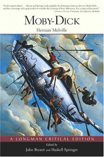9780321228000: Moby-Dick: A Longman Critical Edition