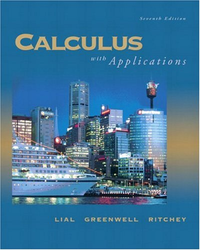 9780321228147: Calculus with Applications (8th Edition)