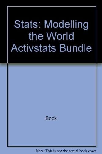 9780321228345: Stats: Modeling the World