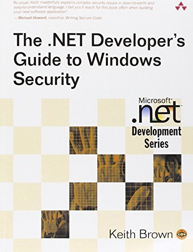 9780321228352: The .Net Developer's Guide to Windows Security (Microsoft .Net Development Series)
