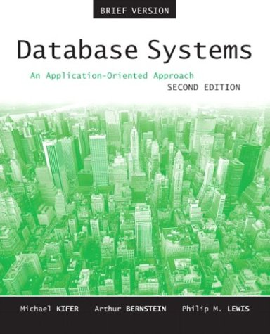 9780321228383: Database Systems: An Application-Oriented Approach, Introductory Version (2nd Edition)
