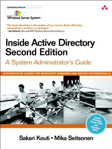 9780321228482: Inside Active Directory: A System Administrator's Guide (2nd Edition)