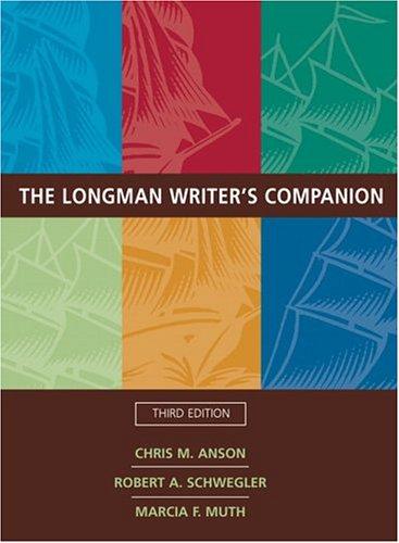 9780321233042: Longman Writer's Companion, The (3rd Edition)