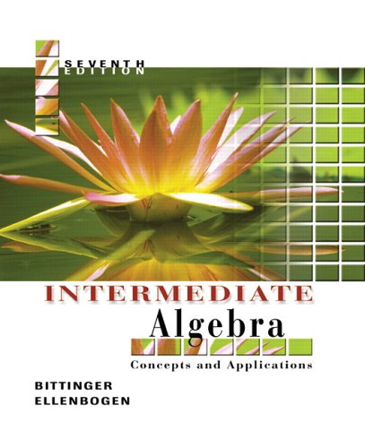 9780321233868: Intermediate Algebra: Concepts and Applications (7th Edition)