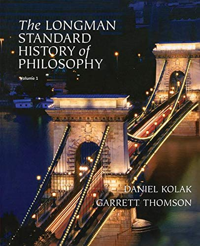9780321235114: The Longman Standard History of Philosophy