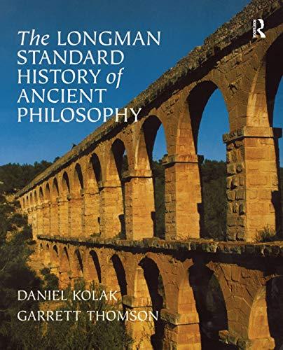 9780321235138: The Longman Standard History of Ancient Philosophy