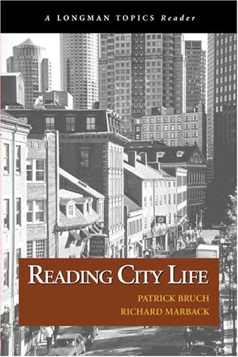 9780321235169: Reading City Life (A Longman Topics Reader)