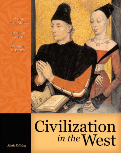 9780321236128: Civilization in the West, Single Volume Edition (6th Edition)