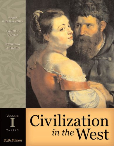 9780321236241: Civilization in the West, Volume I (to 1715) (Book Alone) (6th Edition)