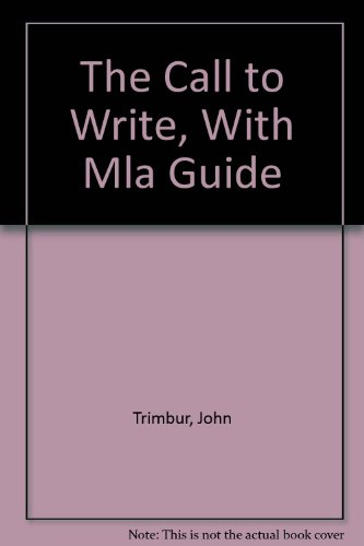 9780321236319: The Call to Write, Brief Edition with MLA Guide, Second Edition