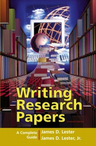 9780321236463: Writing Research Papers: A Complete Guide (perfect-bound) (11th Edition)
