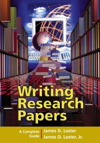 9780321236470: Writing Research Papers: A Complete Guide (spiral-bound) (11th Edition)