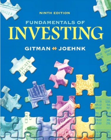 9780321236852: Fundamentals of Investing (9th Edition)
