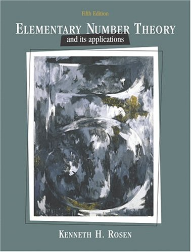 9780321237071: Elementary Number Theory and Its Applications