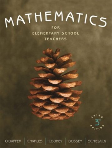 9780321237187: Mathematics for Elementary School Teachers (3rd Edition)