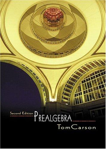 9780321237361: Prealgebra (2nd Edition)