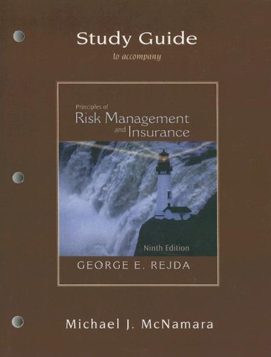 9780321237842: Principles of Risk Management and Insurance