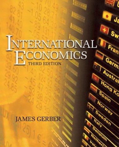 9780321237965: International Economics (3rd Edition)