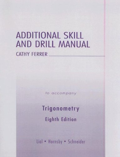 9780321238313: Additional Skill and Drill Manual