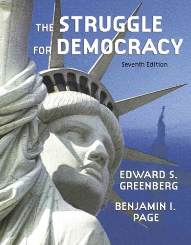 9780321243522: Struggle for Democracy, The (Hardcover) (7th Edition)