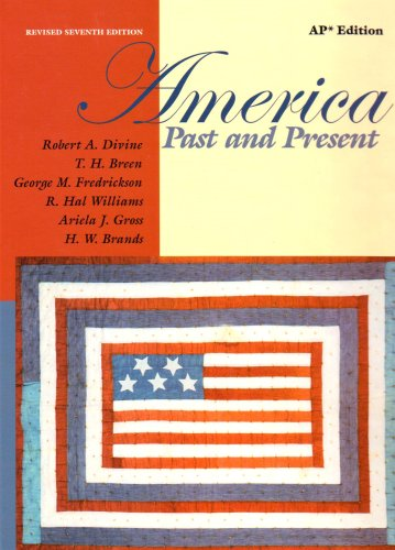 9780321243805: America Past and Present