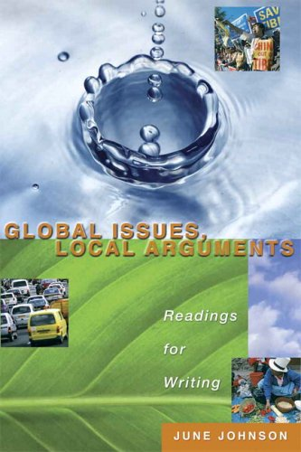 9780321244239: Global Issues, Local Arguments: Readings for Writing