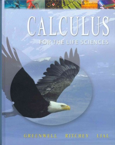 9780321244642: Calculus with Applications for the Life Sciences with Student Solutions Manual