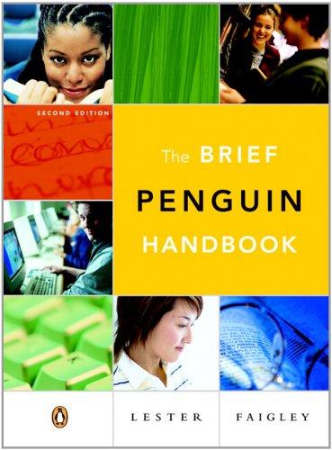 9780321245311: The Brief Penguin Handbook