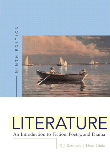 9780321245519: Literature: An Introduction to Fiction, Poetry, and Drama, Ninth Edition