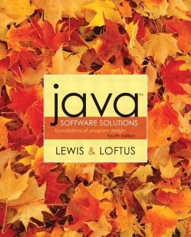 9780321245830: Java Software Solutions: Foundations of Program Design: United States Edition (Addison-Wesley's Codemate)