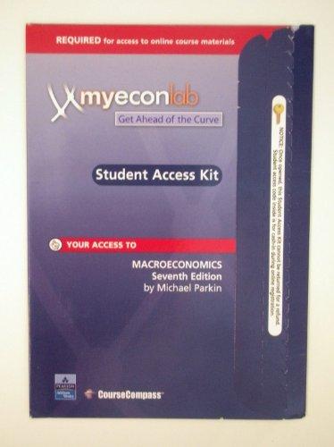 9780321246073: MyEconLab Student Access Kit
