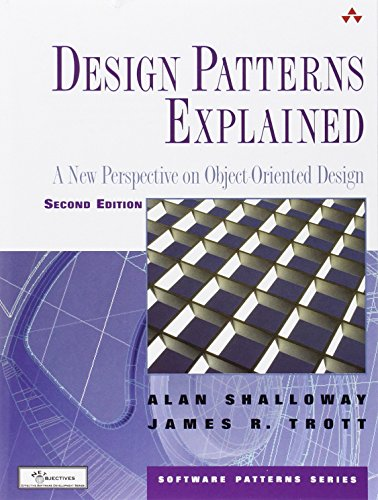 9780321247148: Design Patterns Explained: A New Perspective On Object-Oriented Design