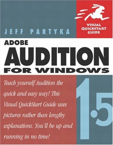 9780321247506: Adobe Audition 1.5 for Windows