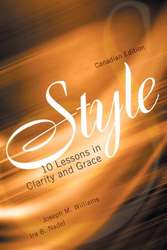 9780321248091: Style: Ten Lessons in Clarity and Grace, Canadian Edition [Paperback] by