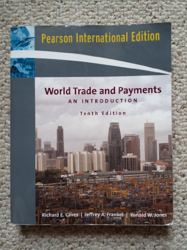 9780321248558: World Trade and Payments: An Introduction (10th Edition, International Edition)