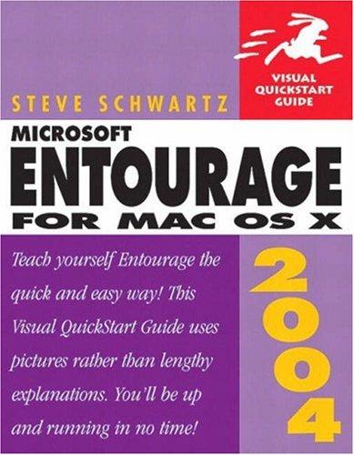 9780321255839: Microsoft Entourage for Mac OS X (Visual QuickStart Guides)