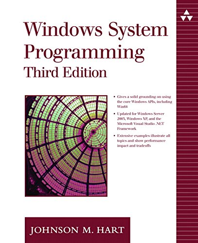 9780321256195: Windows System Programming (3rd Edition)