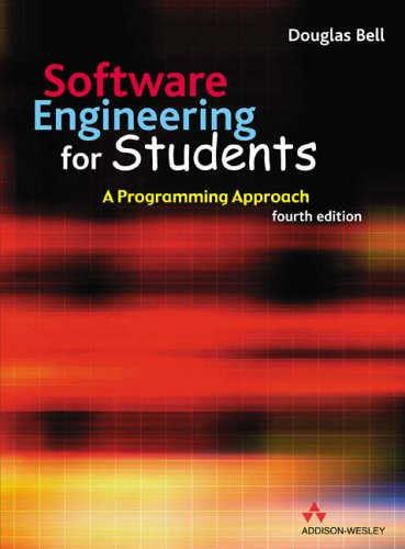 9780321261274: Software Engineering for Students