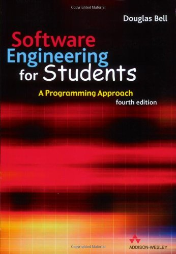 9780321261274: Software Engineering For Students: A Programming Approach