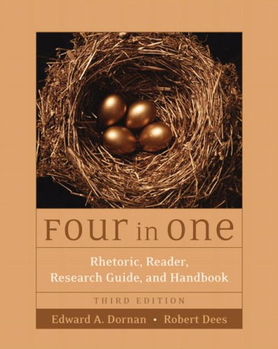 9780321261618: Four in One: Rhetoric, Reader, Research Guide, and Handbook (3rd Edition)