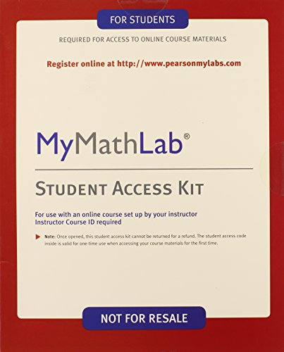 9780321262523: Mymathlab - Valuepack Access Card