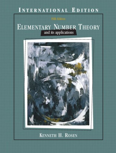 9780321263148: Elementary Number Theory: International Edition