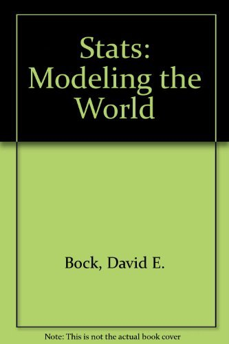 9780321267436: Stats: Modeling the World