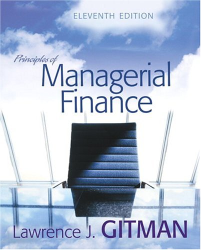 9780321267610: Principles of Managerial Finance (11th Edition)