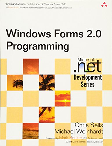 9780321267962: Windows Forms 2.0 Programming (Microsoft .Net Developers)