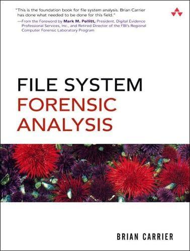 9780321268174: File System Forensic Analysis