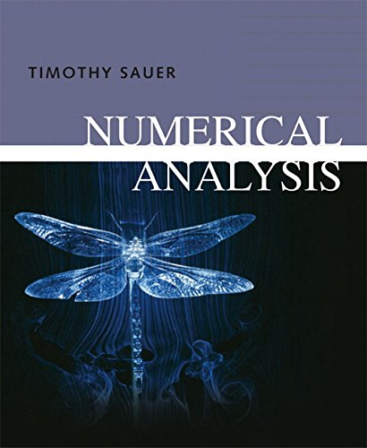 9780321268983: Numerical Analysis: United States Edition