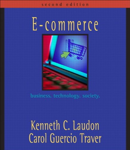 9780321269379: E-Commerce: Business, Technology, Society, Case Book Update (2nd Edition)